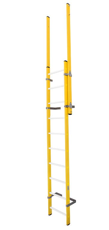 Escalera Vertical Fija De Fibra