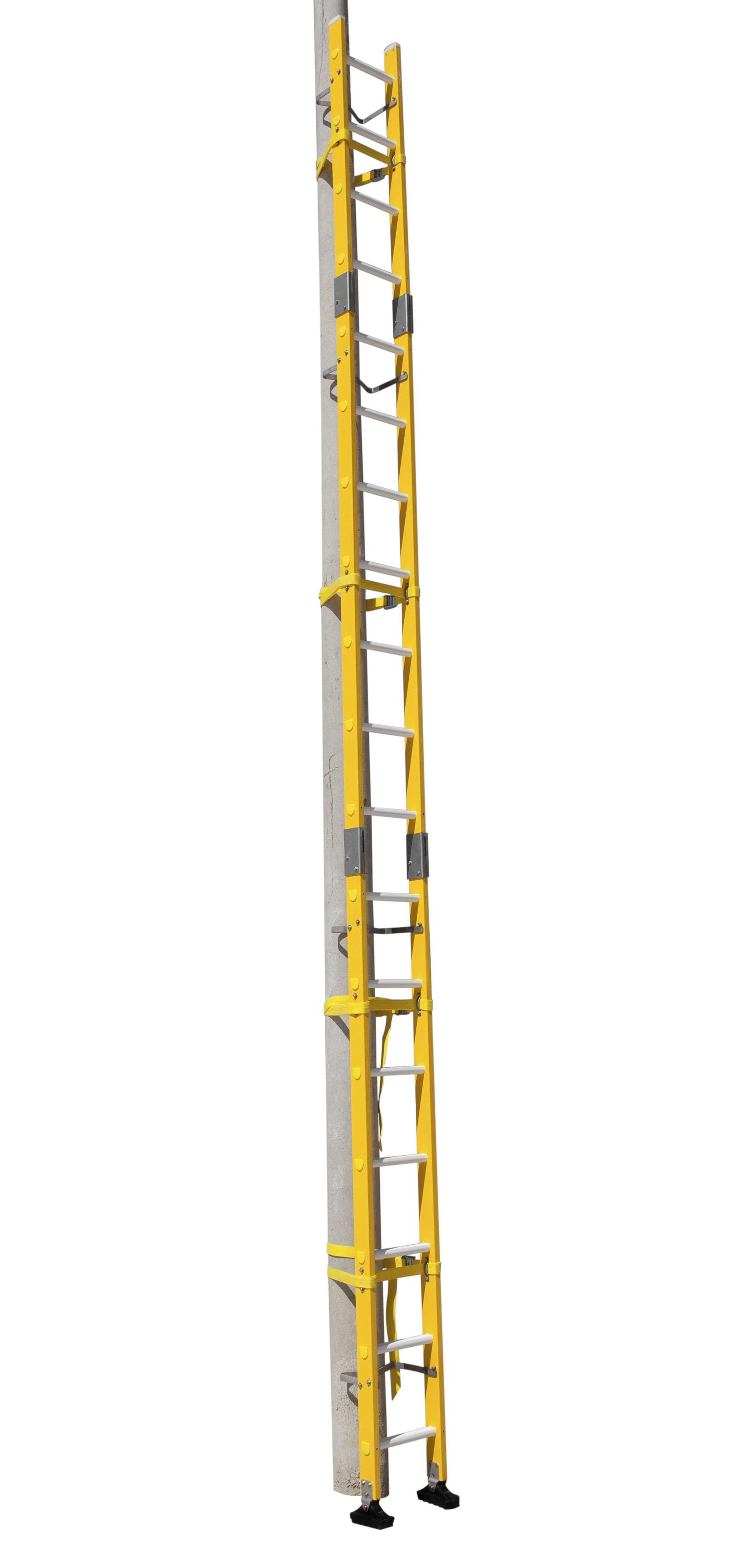 Escalera De Fibra Enchufable Para Postes