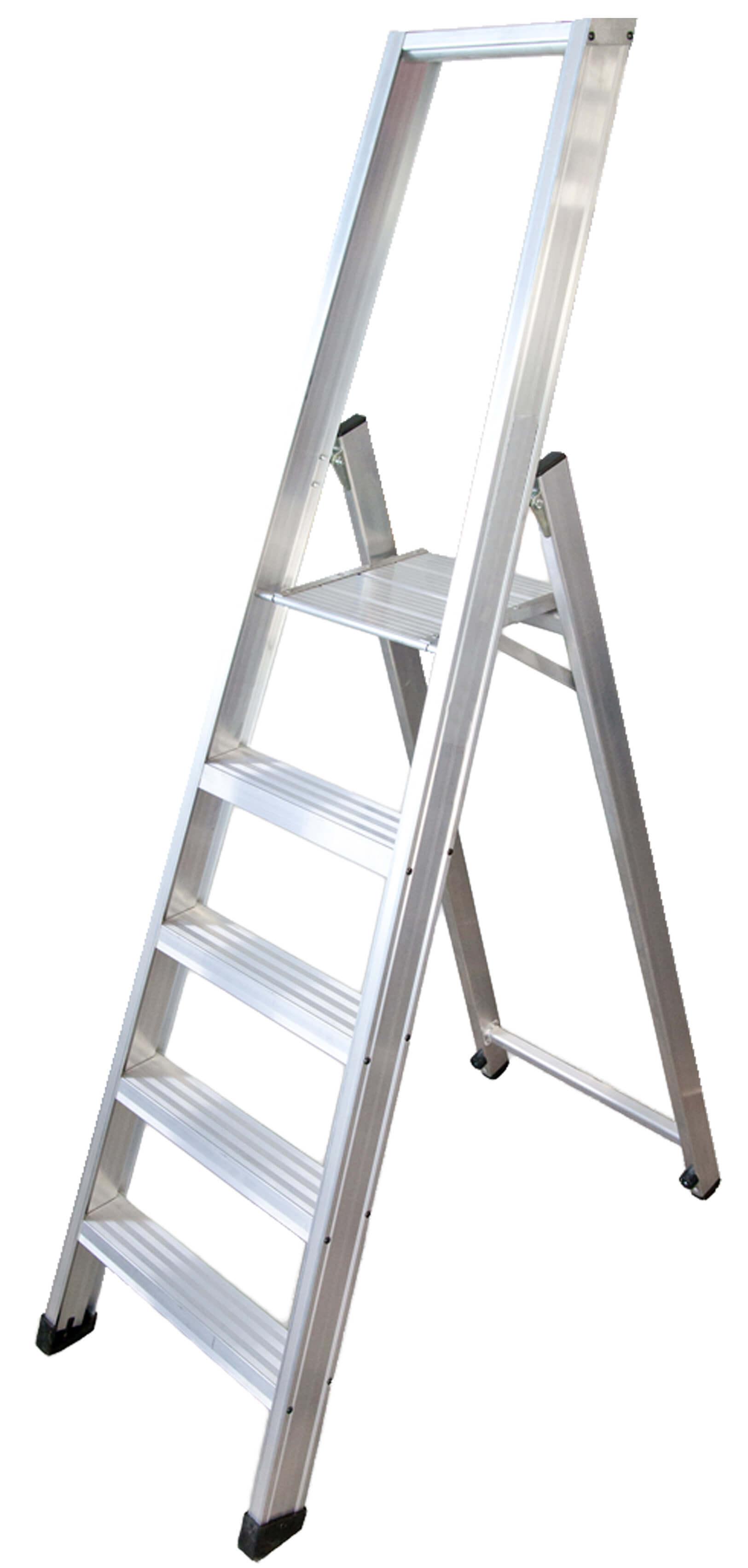 Escalera De Tijera Con Plataforma Modelo Roncal