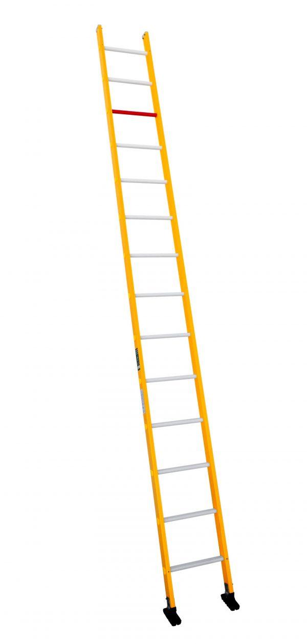 Escalera de fibra de un tramo