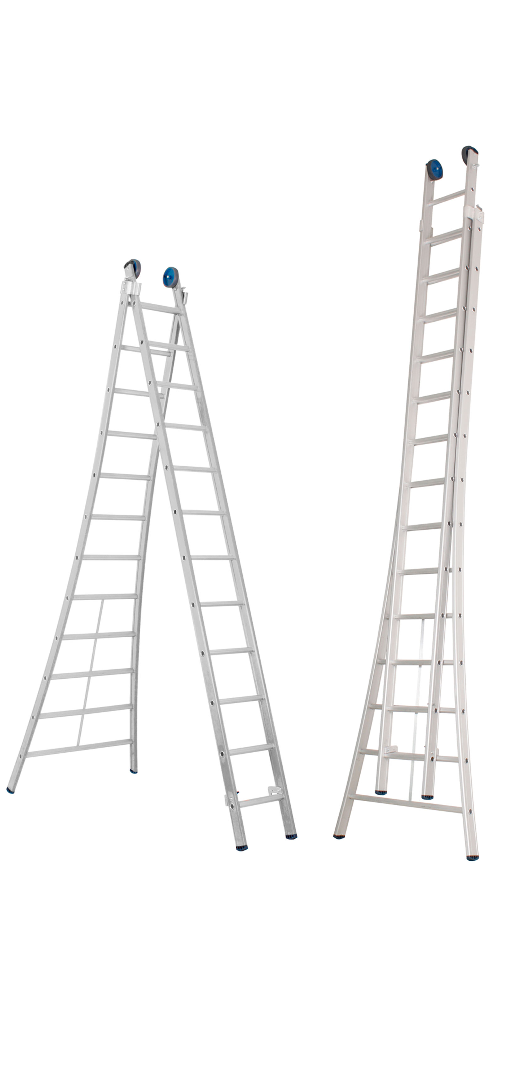Escalera Transformable De Dos Tramos Modelo Aralar