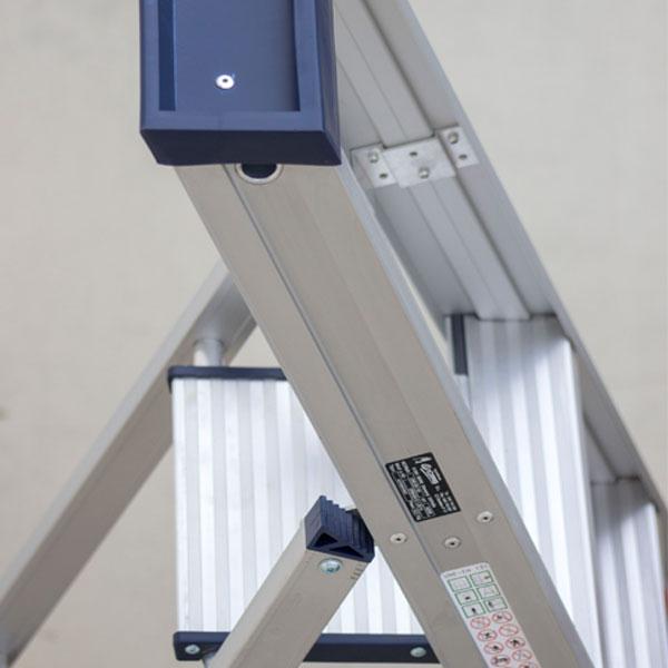 Plataforma Escalera Aluminio