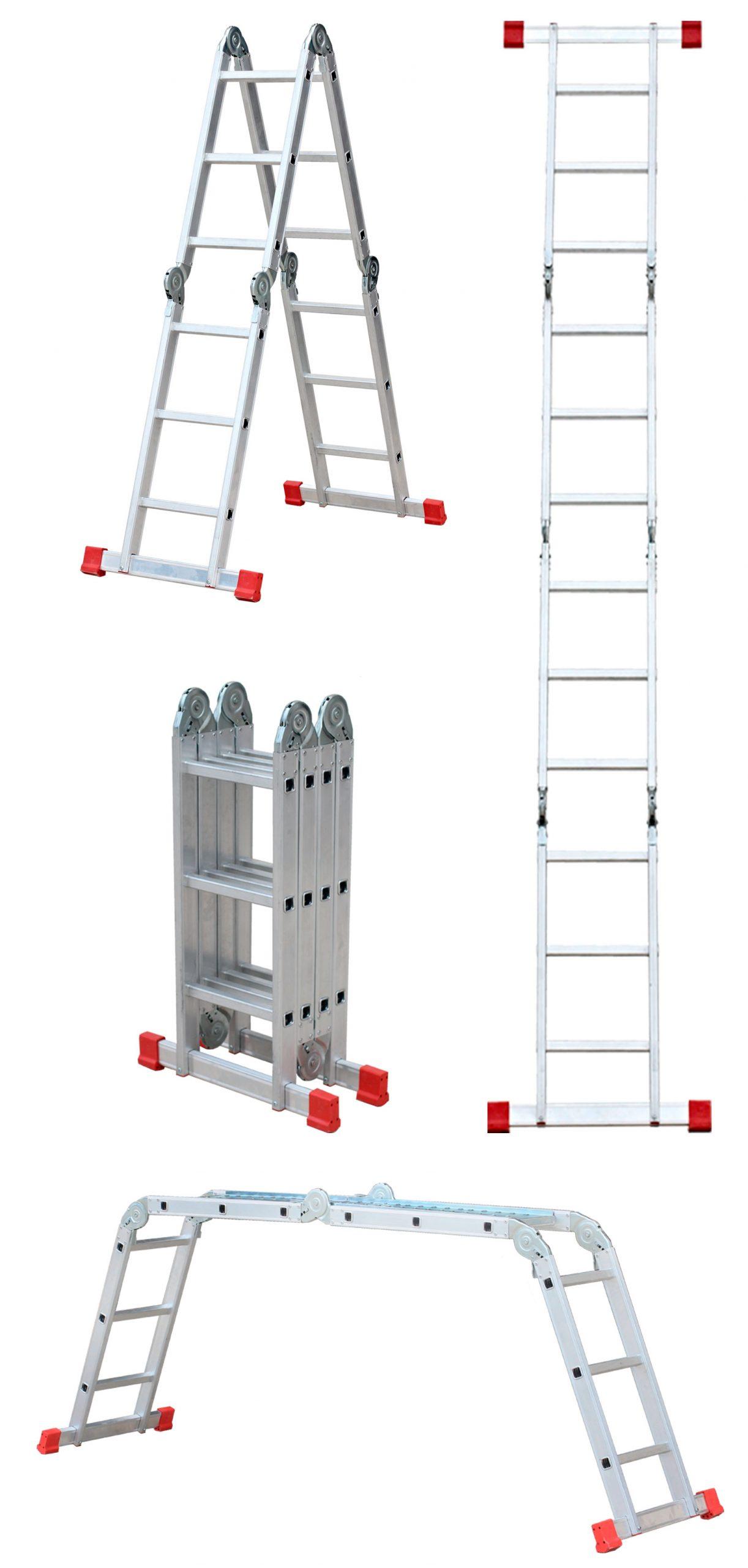 Escalera De Aluminio Multiposición